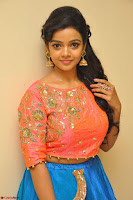 Nithya Shetty in Orange Choli at Kalamandir Foundation 7th anniversary Celebrations ~  Actress Galleries 025.JPG