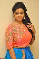 Nithya Shetty in Orange Choli at Kalamandir Foundation 7th anniversary Celebrations ~  Actress Galleries 025.JPG