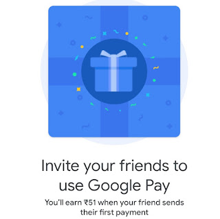 Google Pay Refer And Earn Offer