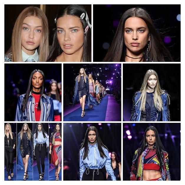 549181317 Semana de Moda de Milão 2016: Donatella Versace, desde que assumiu a  Direção da Marca Versace, surpreende a cada Coleção, explorando ao Máximo a  ...