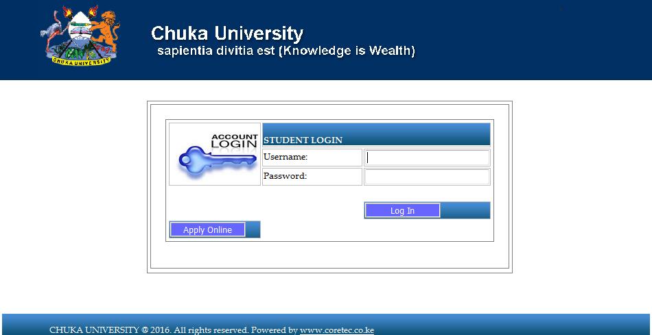 Chuka University Student Portal Is Working But Still Missing