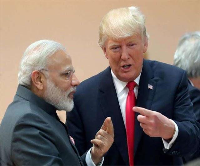 प्रधानमंत्री नरेंद्र मोदी (Narendra Modi) ने आज अमेरिकी राष्ट्रपति डोनाल्ड ट्रंप (Donald Trump) से बात