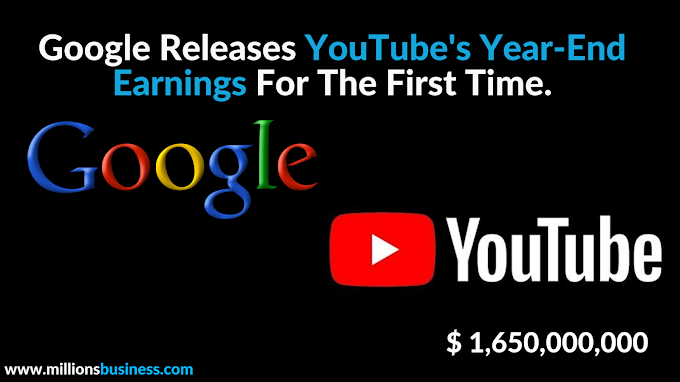 How Much Youtube Earns In a Year.