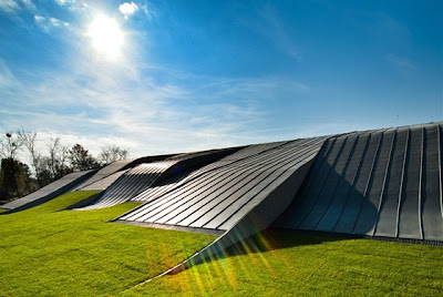 Zwembad Litomysl - moderne architectuur Litomysl. Architectuurprijs 2011