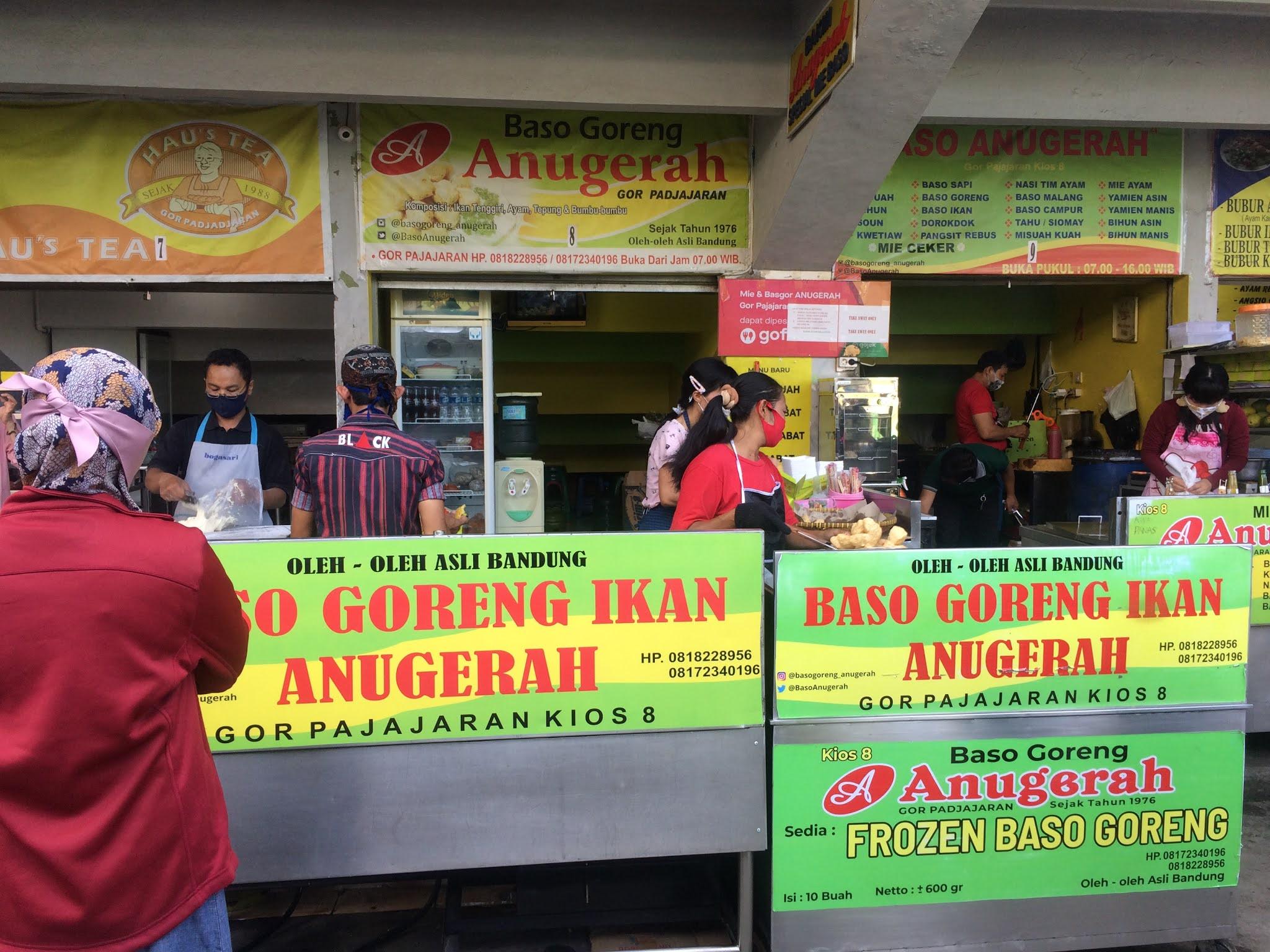 Bakso Goreng Ikan Anugerah, Bandung