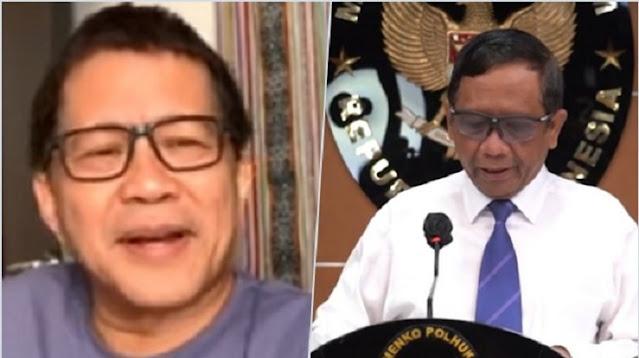 Aksi Jokowi End Game, Rocky Gerung: Mahfud MD Kena Prank
