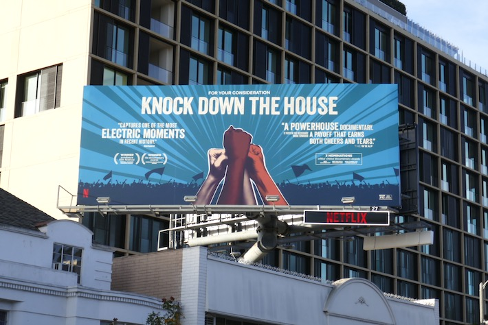 Knock Down The House Netflix FYC billboard