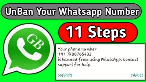 Your Phone Number is Banned From Using Whatsapp
