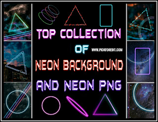 neon background, neon png