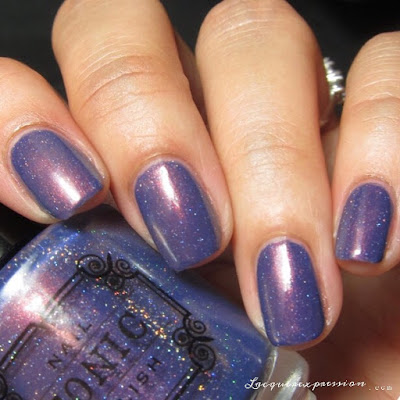 nail polish swatch of Stars at Twilight from the Holiday 2016 collection from Tonic Polish