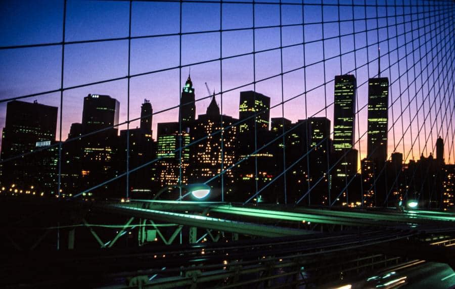 New York City Skyline, 1984. | Photograph taken by Kent Almqvist. | NYC, places, travel, lifestyle | Allegory of Vanity.jpg