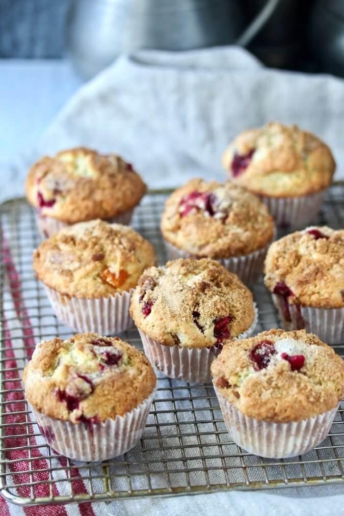 Sourdough Cranberry Muffins are so delicious