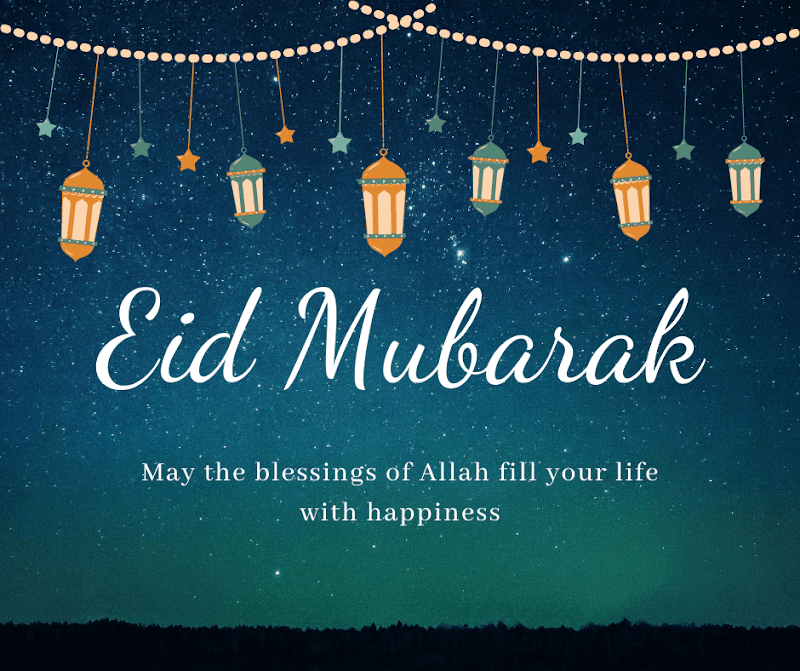 May the blessings of Allah fill your life with happiness