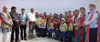 Jaunpur : चिल्ड्रेन स्कूल आफ आर्ट दुगौली में बच्चों के लिये हुआ जागरूक कार्यक्रम