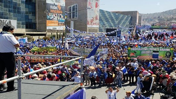 Evo Morales: Votar por la derecha es volver a un Estado mendigo