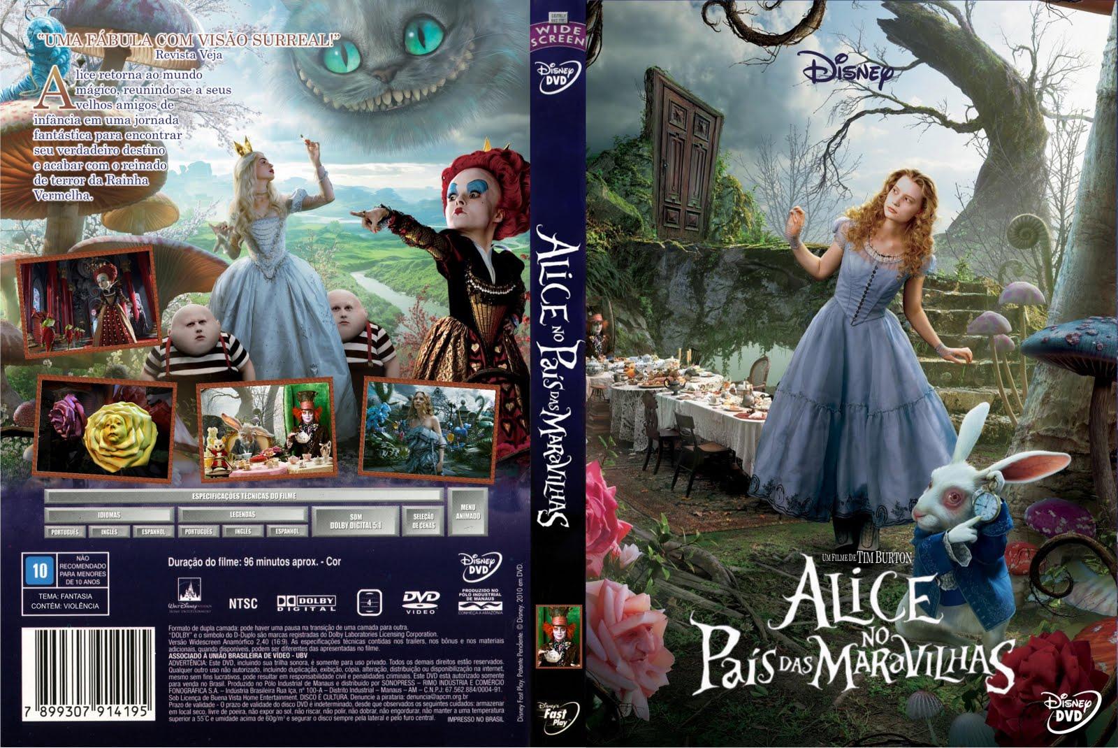 Alice Nos Pais Das Maravilhas Filme Online blog do baruk: alice no país das maravilhas - filme