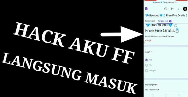 Apk Hack Akun FF Ryan Aww