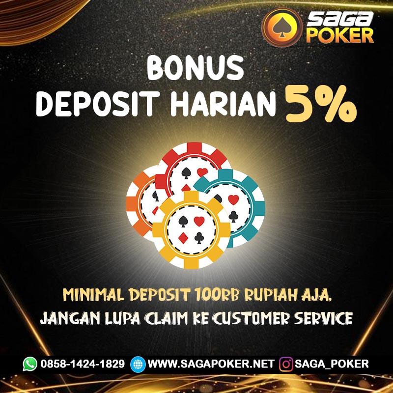 Saga Poker Bonus Deposit