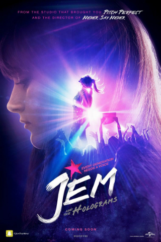 Jem and the Holograms [2015] [DVDR] [NTSC] [Latino]