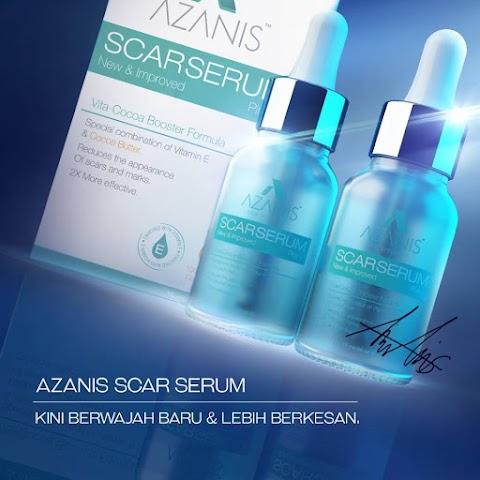 Azanis Scar Serum : Penyelesaian Baru Masalah Parut