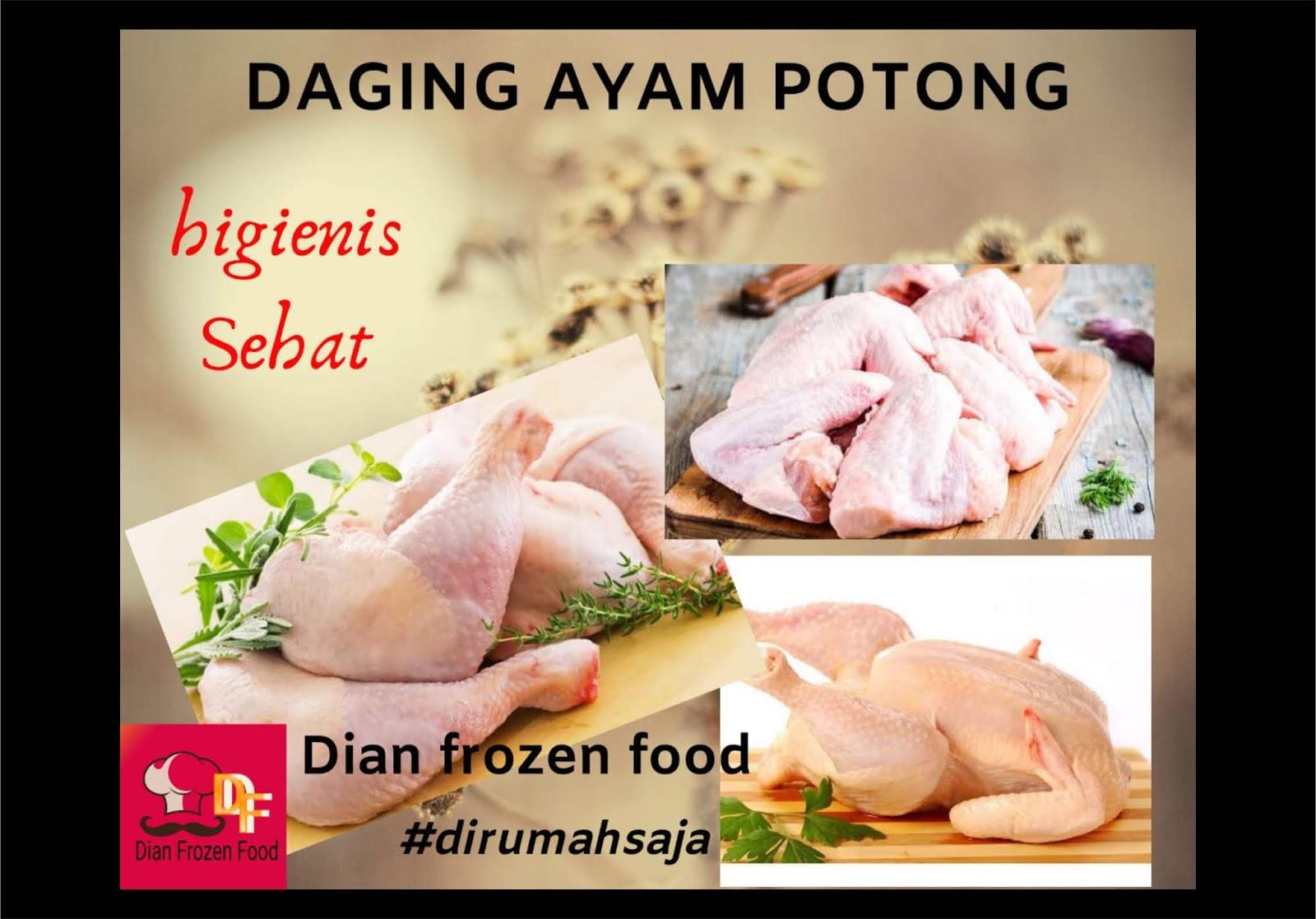 Daging Ayam Potong Rp. 32.000/kg