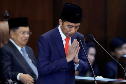 Tak Satupun Kata Korupsi Keluar Dalam Pidato Perdana Jokowi Sebagai Presiden Periode Kedua