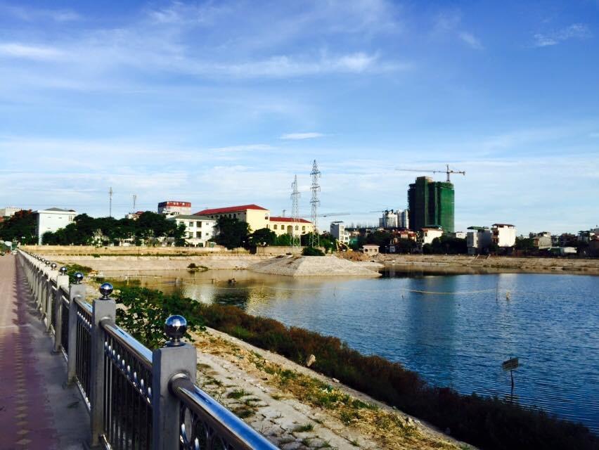 Công viên Hồ Hạ Đình đang hoàn thành những bước cuối cùng...