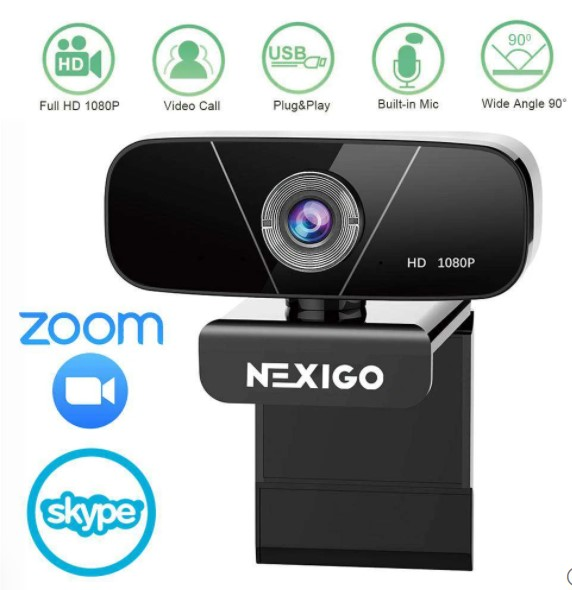 NexiGo N620 1080P HD Webcam