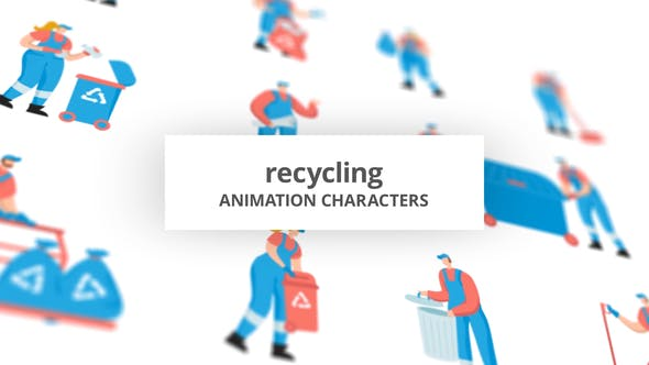 Recycling – Character Set[Videohive][After Effects][29102387]