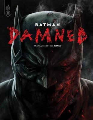 L'Agenda Mensuel - Octobre 2019 Livre Batman Damned Comics