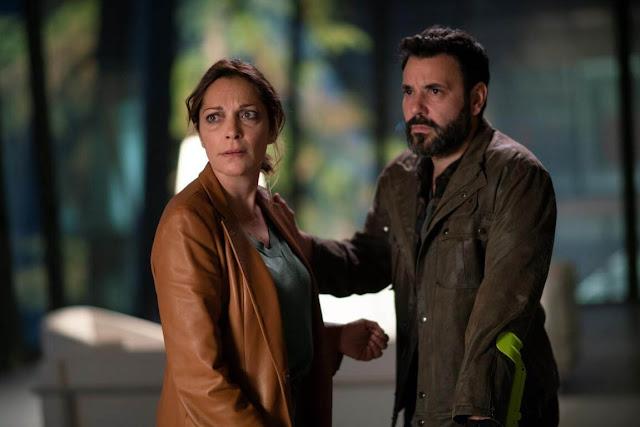 Cristina Plazas y Miquel Fernández en 'El nudo'