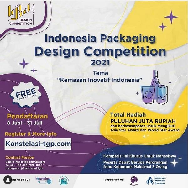 Kompetisi Desain Kemasan Indonesia INPACK 2021