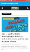 Online app own android app, informationbylr.online android app