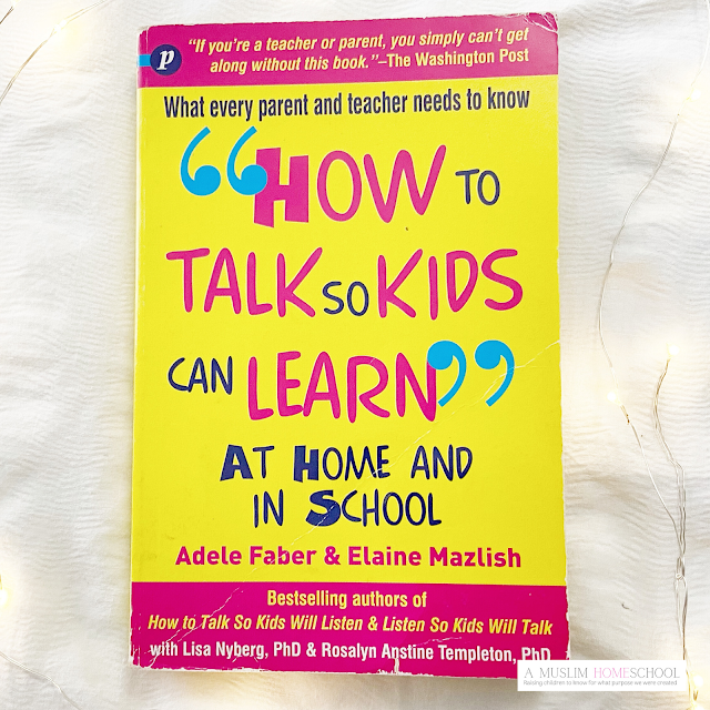 How to talk so kids can learn at home and school
