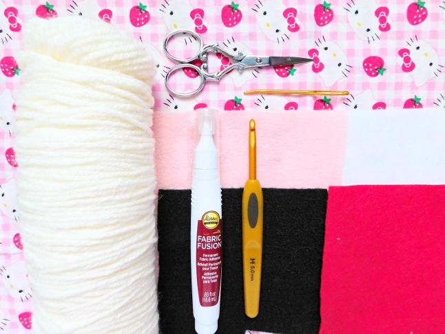 Korilakkuma AirPod Cozy Crochet Pattern