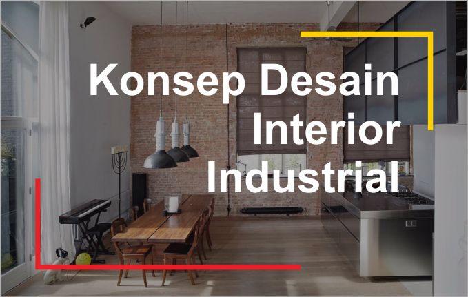 referensi desain arsitektur industrial