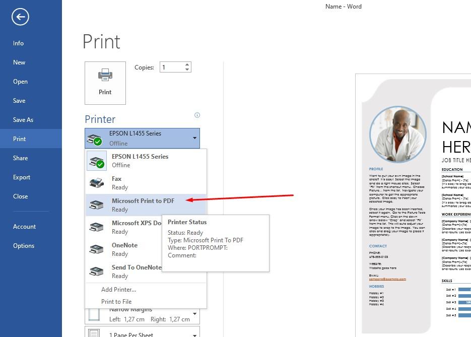 3 Cara Mengubah Word Ke Pdf Di Laptop Or Hp Cepat Mudah Pakar Dokumen