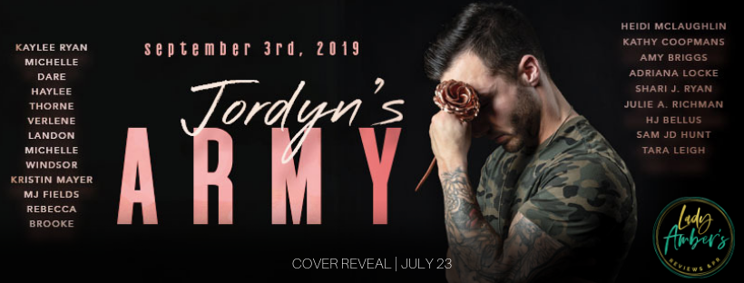 Gothic Moms: Cover Reveal: Jordan's Army
