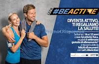 Logo Progetto Lets Be Active: 6 settimane gratis di sport e fitness (senza acquisto)