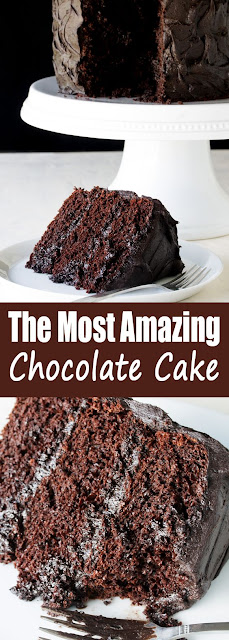 The Most Amazíng Chocolate Cake