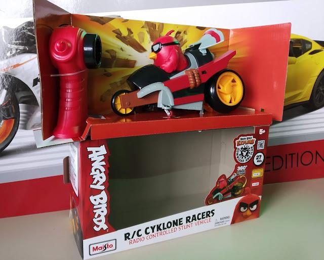 Maisto Angry Birds Cyklone Racers