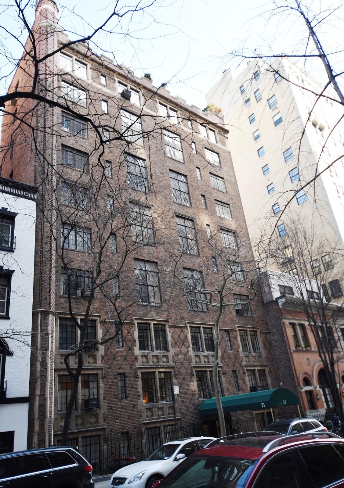 "Daytonian In Manhattan: ""The Studio Building"" -- No. 71"