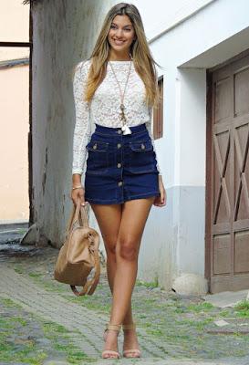 Faldas de moda de verano