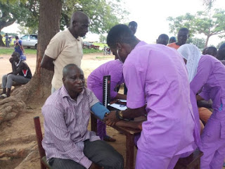 Medical Outreach: NGO, African Doctors Offer Free Treatment To 700 Patients