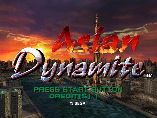 Asian Dynamite Rom