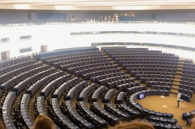 Parlament Europejski, Strasbourg, sala, Francja, obrady