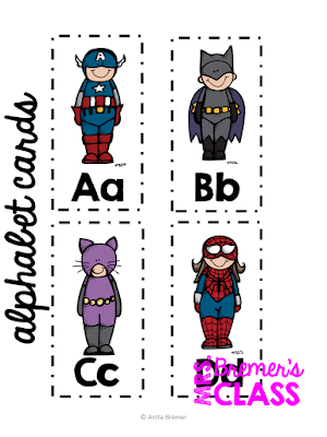 Our Class of Super Friends: a back to school pack that builds classroom community and helps students get to know each other. #kindergarten #1stgrade #backtoschool #classroom #superheroes