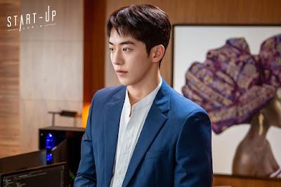review drama korea on going start up