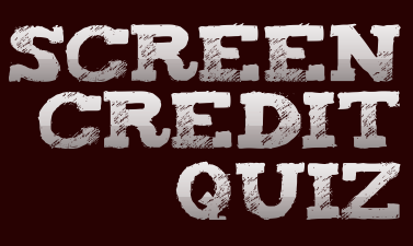 Screen Credit Quiz (TV Edition 2)