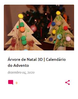 Árvores de Natal, em cartão, a 3D